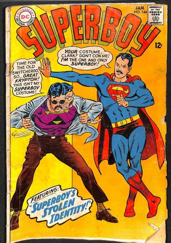 Superboy #144 (1968)