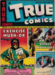 True Comics 51 VG-/VG  (Aug. 1946)