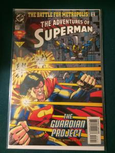The Adventures of Superman #513 The Battle for Metropolis!
