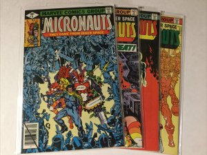 Micronauts 9-12 9 10 11 12 Lot Set Run Nm Near Mint Marvel Comics