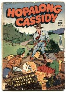 Hopalong Cassidy #6 1947- Fawcett Western G+