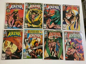 Ka-Zar the Savage lot #1-34 Marvel 31 pieces average 8.0 VF (1981 to 1984)