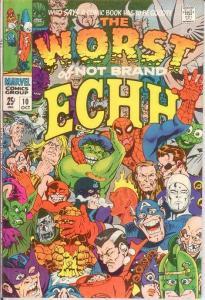 NOT BRAND ECHH 10 (GIANTS)FINE- VERY FINE Oct. 1968 COMICS BOOK