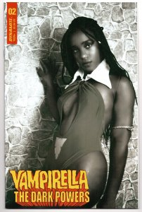 Vampirella Dark Powers #2 | 1:15 B&W Cosplay Variant (VF/NM) [ITC577]
