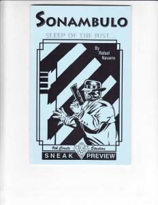 Sonambulo: Sleep of the Just Preview #1 VF/NM signed & numbered ashcan (#7/270)