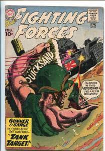 OUR FIGHTING FORCES #60-1960-DC-SILVER AGE-GUNNER & SARGE-vg