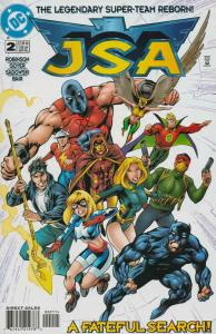 JSA #2 FN; DC | save on shipping - details inside