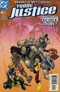 Young Justice #45 VF/NM; DC | save on shipping - details inside