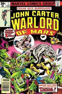 John Carter: Warlord of Mars (1977 series) #1, VF- (Stock photo)