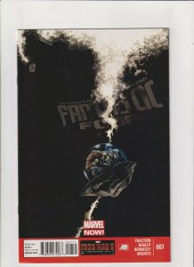 Fantastic Four #7 VF/NM 9.0 Marvel Comics 2013 Matt Fraction Mark Bagley