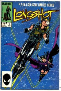 LONGSHOT #2 FN Art Adams, 1985, more Marvel in store