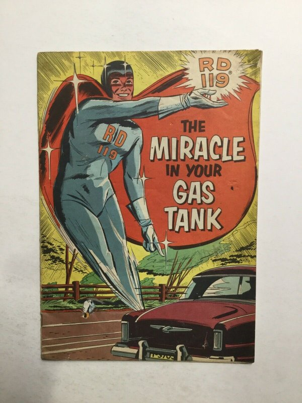 Miracle In Yours Gas Tank Gd/Fn Good/Fine 5.0 Sinclair