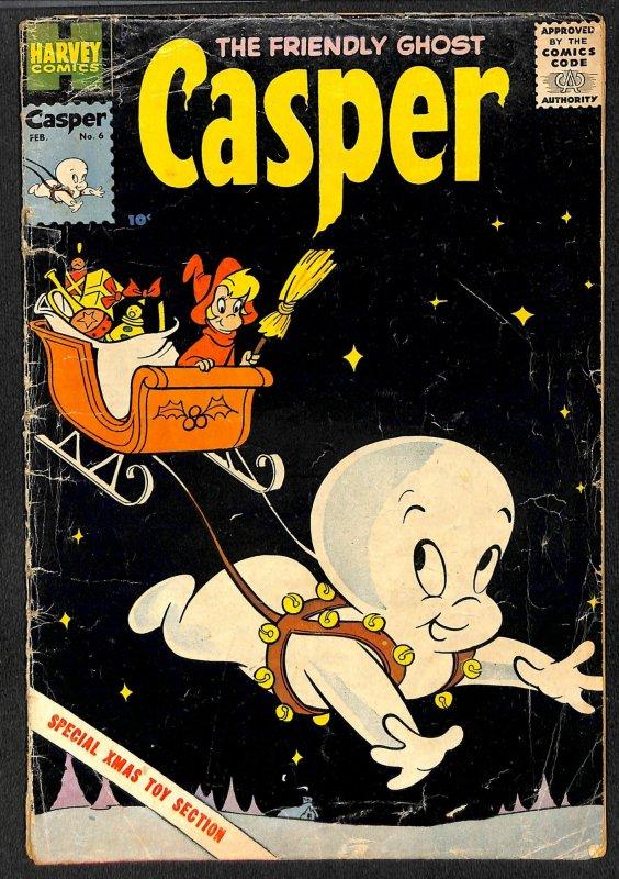 The Friendly Ghost Casper #6 (1959)