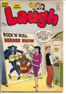 Laugh #129 1961-Betty-Veronica-horror-superhero-The Fly-FN-
