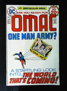 OMAC (1974 series) #1, Fine+ (Actual scan)