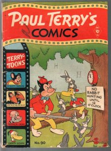 Paul Terry's Comics #90 1952-St. John-Mighty Mouse-Heckle & Jeckle-VG