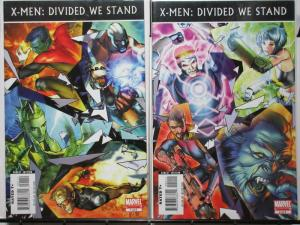 X MEN DIVIDED WE STAND (2008) 1-2  complete story!