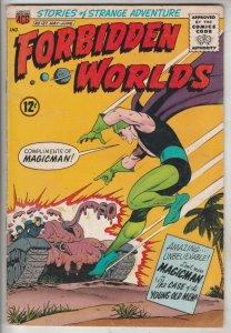 Forbidden Worlds #127 (May-65) VF/NM High-Grade Magicman