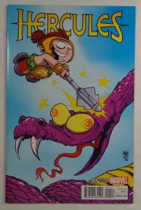 Hercules #1 Skottie Young Variant Marvel 2016