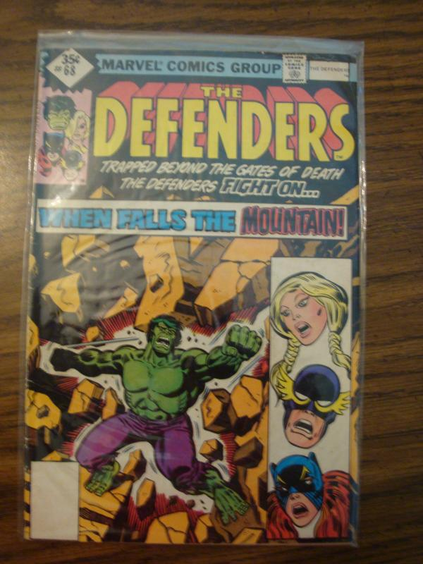 Marvel Comics The Defenders #68 VF
