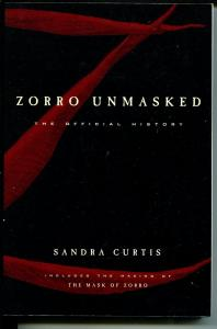 -Zorro Unmasked-1998-Sandra Curtis-history of Zorro-film -TV checklists-VF