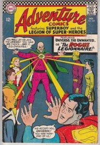 Adventure Comics #349 (Oct-66) FN Mid-Grade Legion of Super-Heroes, Superboy