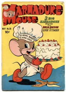 Marmaduke Mouse #30 1952- Golden Age Funny Animals G+