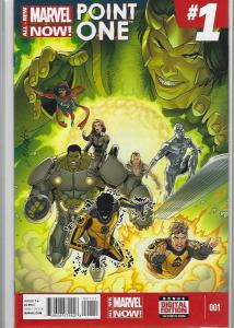 MARVEL NOW POINT ONE #1 $45.00 NEAR MINT