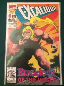 Excalibur #60 Braddock of the Jungle