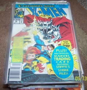 X Men # 15  1992, Marvel  cable stryfe  x-cutioners song pt 7  APOCALYPSE