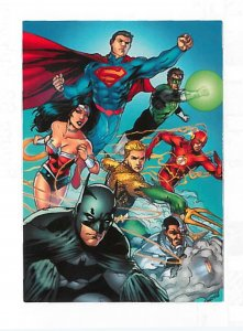 2012 DC Comics The New 52 card set #1-62 complete NM/MT