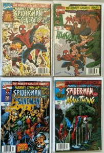 Spider-Man and the Sandman! 2nd series run:#1-4 8.0 VF (1997)
