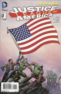 Justice League of America (2013 series) #1, NM + (Stock photo)