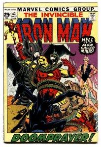 IRON MAN #43 comic book 1971 First GUARDSMAN-Marvel vf+