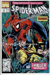 SPIDER-MAN #12, NM, Todd McFarlane,1990, Wolverine, more in store