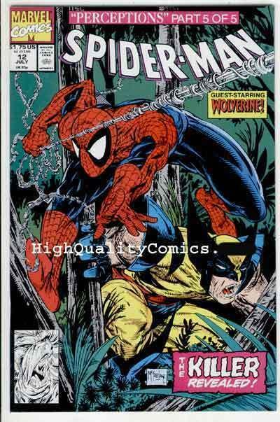 SPIDER-MAN #12, NM, Todd McFarlane,1990, Wolverine, more in store