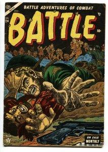 Battle #24 1953 Violent War comic book- Atlas comics- Iwo Jima VG+