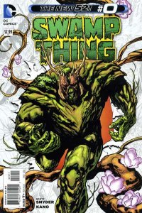 Swamp Thing (2011 series) #0, NM (Stock photo)