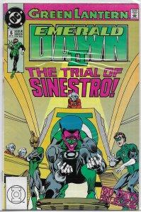 Green Lantern  : Emerald Dawn II #6 of 6 VG