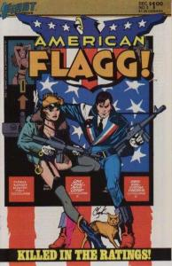 American Flagg! #3, NM- (Stock photo)
