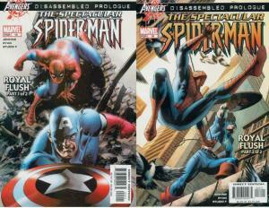 SPECTACULAR SPIDERMAN (2003) 15-16  Royal Flush