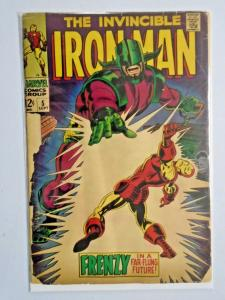 Iron Man #5 - First 1st Series - see pics - detached cover - reader copy - 1968