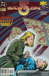 Babylon 5 #3 VG; DC | low grade comic - save on shipping - details inside