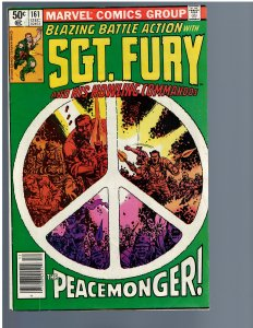 Sgt. Fury and His Howling Commandos #161 (Marvel, 1980)