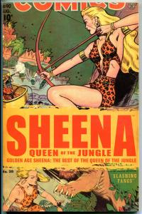 BEST of GOLDEN AGE SHEENA Queen of the Jungle, GN, TPB, NM, 2008, 1st