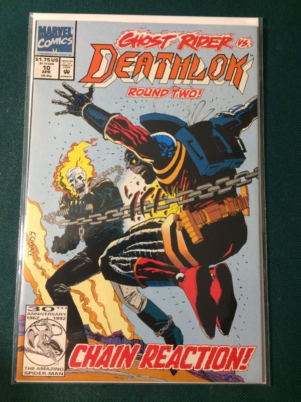 Deathlok #10 vs Ghost Rider