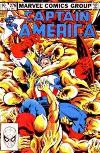 Captain America #276 stock photo ID#B-1