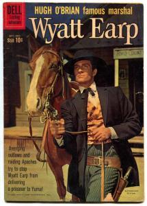 Wyatt Earp #12 1960- Hugh O'Brian Dell Western VG-