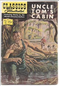 Classics Illustrated #15 HRN 137 - Golden Age -1964 VG