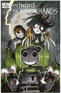 EDWARD SCISSORHANDS #5, NM, Drew Rausch, Kate Leth, 2014, more IDW in store